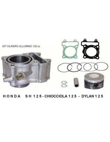 HONDA SH 125 CYLINDER CYLINDER PISTON GASKET NUT