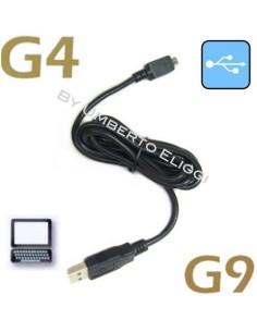CAVO USB PER INTERFONO SCALA RIDER G4 , G4 POWERSET, G9, G9 POWERSET AGGIORNAMENTO , RICARICA