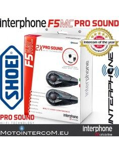 F5MC Twin interphone cellularline per caschi SHOEI