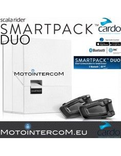 SMARTPACK DUO Cardo Scala Rider DMG Technology
