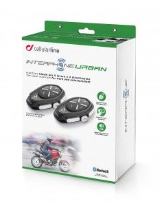 Urban Twin Pack Interphone cellularline