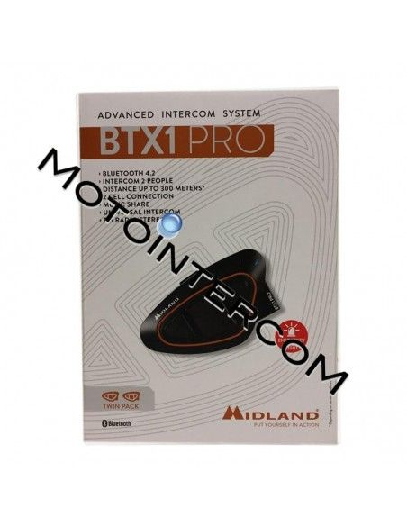 BTX1PRO Twin Pack Midland Intercom