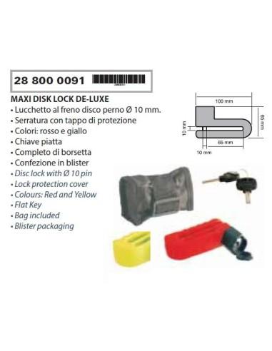 MOTOCYKL SCOOTER DISC LOCK PIN MM10