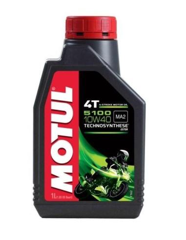 MOTUL OIL 5100 10W30-10W40-15W50 1 LT