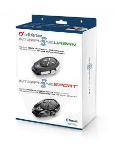 Kit Sport Urban Interphone Cellularline
