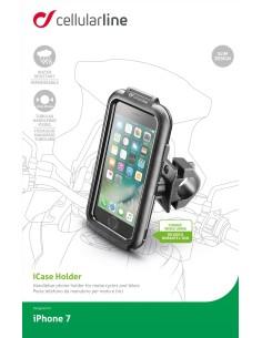 Титуляр на кормилото на мотоциклета за Iphone 7