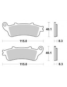 BRAKE PADS FRONT PANTHEON 150 250 FORESIGHT