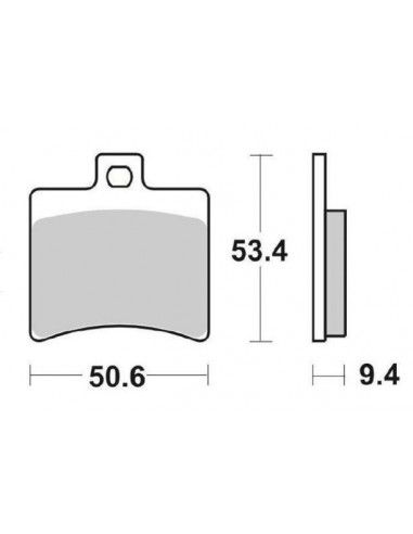 Tampoane de frână spate BEETLE 125 150
