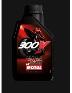 ACEITE MOTUL 300V 15W50 1 LT