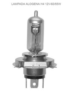 Lampada alogena H4 12V 60/55W Anteriore
