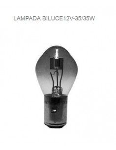Lampada biluce 12V 35/35W Anteriore