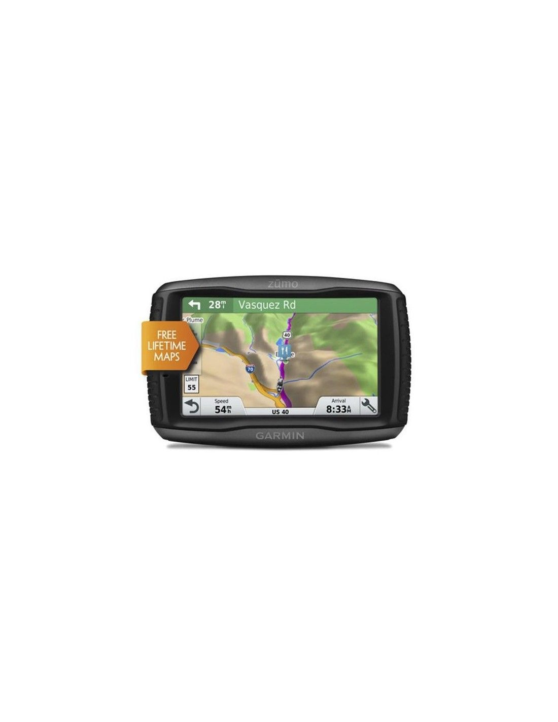 Gps Navigator Garmin Zumo 595lm Travel Edition Dwrean Xartes Gia