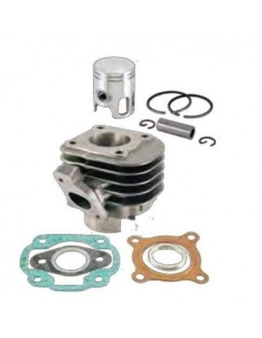 CYLINDER CYLINDER AND PISTON RMS BEETLE WHY F10 Minarelli 50CC HEAD HORIZONTAL EXCEPT