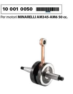 ALBERO MOTORE MINARELLI AM345 AM6 50CC