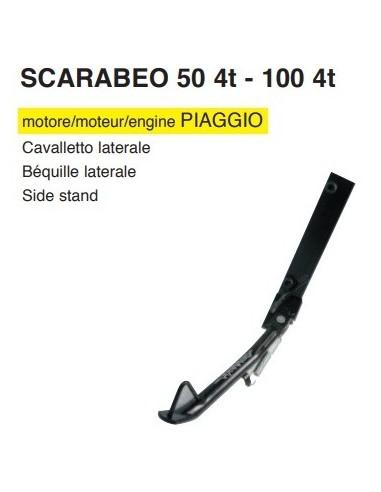 CAVALLETTO LATERALE APRILIA SCARABEO 50 100  4 TEMPI prezzo migliore