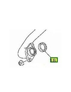 Gasket exhaust Honda CN 250 Spazio Yamaha T-max 500 and 530 Polaris Piaggio Exagon 250 GT D. best price