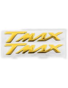 Adesivo Decalque 3D Yamaha T-max de Ouro de melhor preço