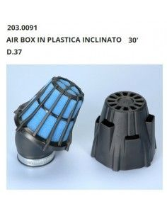 Air filter Air Box Polini tilted 30 Degrees Diameter 37 mm For Carburettor PHBN PHVA best price