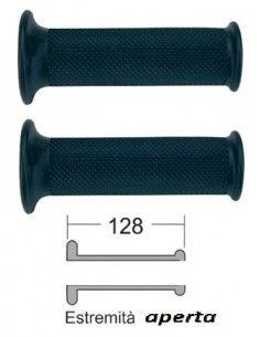 Grips black Dakar Motorcycle and Scooter 128 mm best price