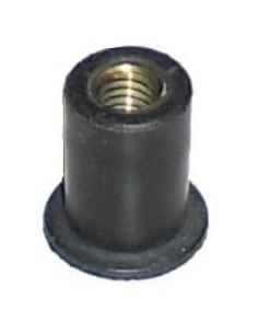 Gommino nero filettato per vite da 5 mm per cupolino moto prezzo migliore