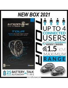 new interphone Tour twin Pack