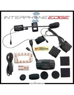 Interphone EDGE singolo, conferenza 4 caschi , simile F5MC