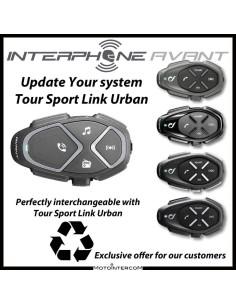 Interphone Avant centralina aggiornamento vecchi sistemi Tour Sport Link Urban