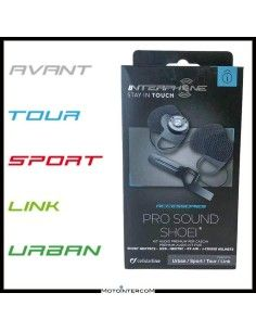 Kit Audio Pro-Sound SHOEI Interphone Avant Tour Sport Link Urban