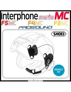 Kit audio pro-sound specifico per caschi SHOEI per Interphone serie MC, f3mc, f4mc, f5mc