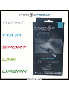 Kit audio Pro Sound HJC RPHA - FG Interphone Avant Tour Sport Urban Link