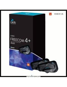 FREECOM 4 + DUO JBL CARDO INTERCOM BIKE