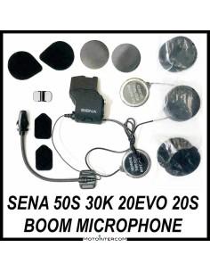 Audio Kit Sena 50S 30K 20S boom microphone and metal speakers