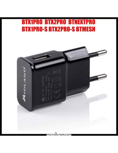 BE Midland Bluetooth intercom voeding 5v 1200mA Lipo batterijen