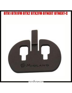 BTX1 / BTX2 / BTNEXT / e serie FM piastra adesiva montaggio al casco Midland