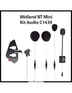 Midland BT Mini Kit Audio con supporto adesivo