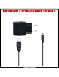 Kit ricarica Midland singolo con alimentatore USB BTX1 BTX2 BTNEXT e FM