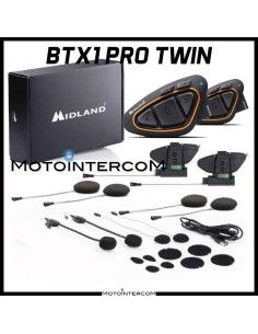 BTX1 PRO HI-FI Twin Pack Midland Intercom novità 2020