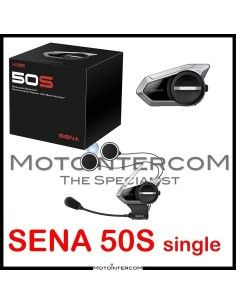 Nuovo Sena 50S interfono moto singolo MESH 2.0