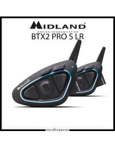 Midland BTX2 PRO S LR interfono doppio conferenza