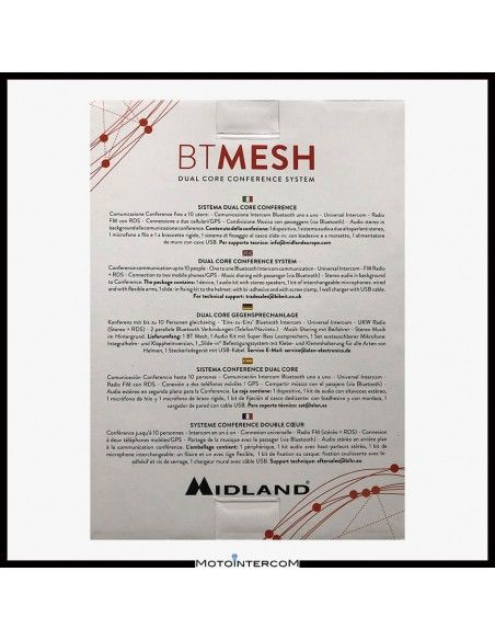 Midland BTMESH MESH conference up to 10 people