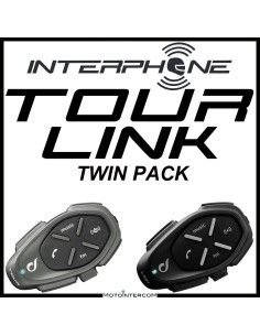 TOUR-LINK Kit Interphone Twin Pack