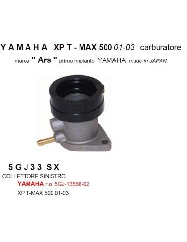COLLETTORE ASPIRAZIONE SINISTRO YAMAHA TMAX 01-03