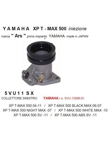 COLLETTORE ASPIRAZIONE SINISTRO YAMAHA TMAX IE 04-11