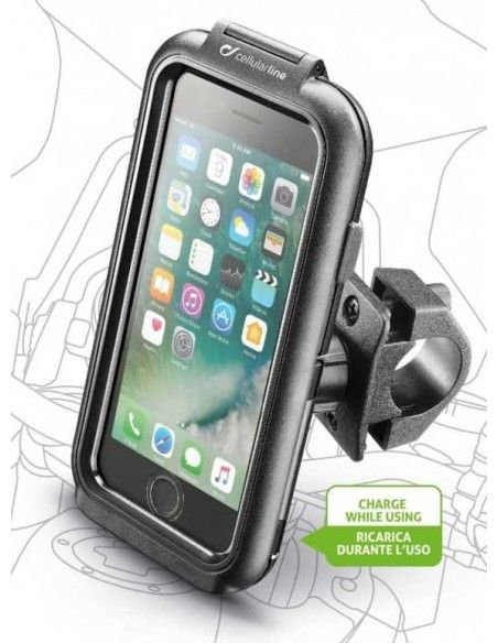 Satnav e Telefone para a moto