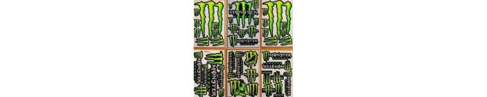 Stickers voor motorfietsen en scooters