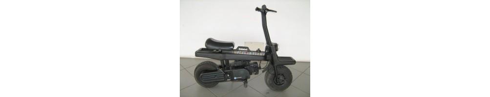 Ricambi e accessori originali e commerciali per Scooter Italjet Pak 3 Motore carrozzeria luci