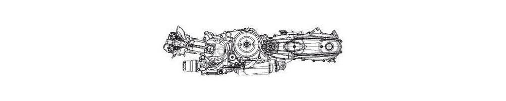 Yamaha Majesty YP 400 engine parts