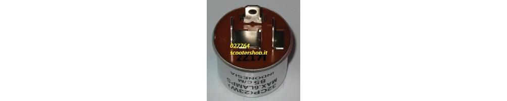 Pijlen of intermitterende relais, speciaal voor LED pijlen en pijlen inclandescenza