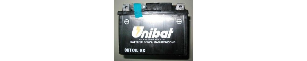 Motorcycle and scooter batteries with six-month warranty