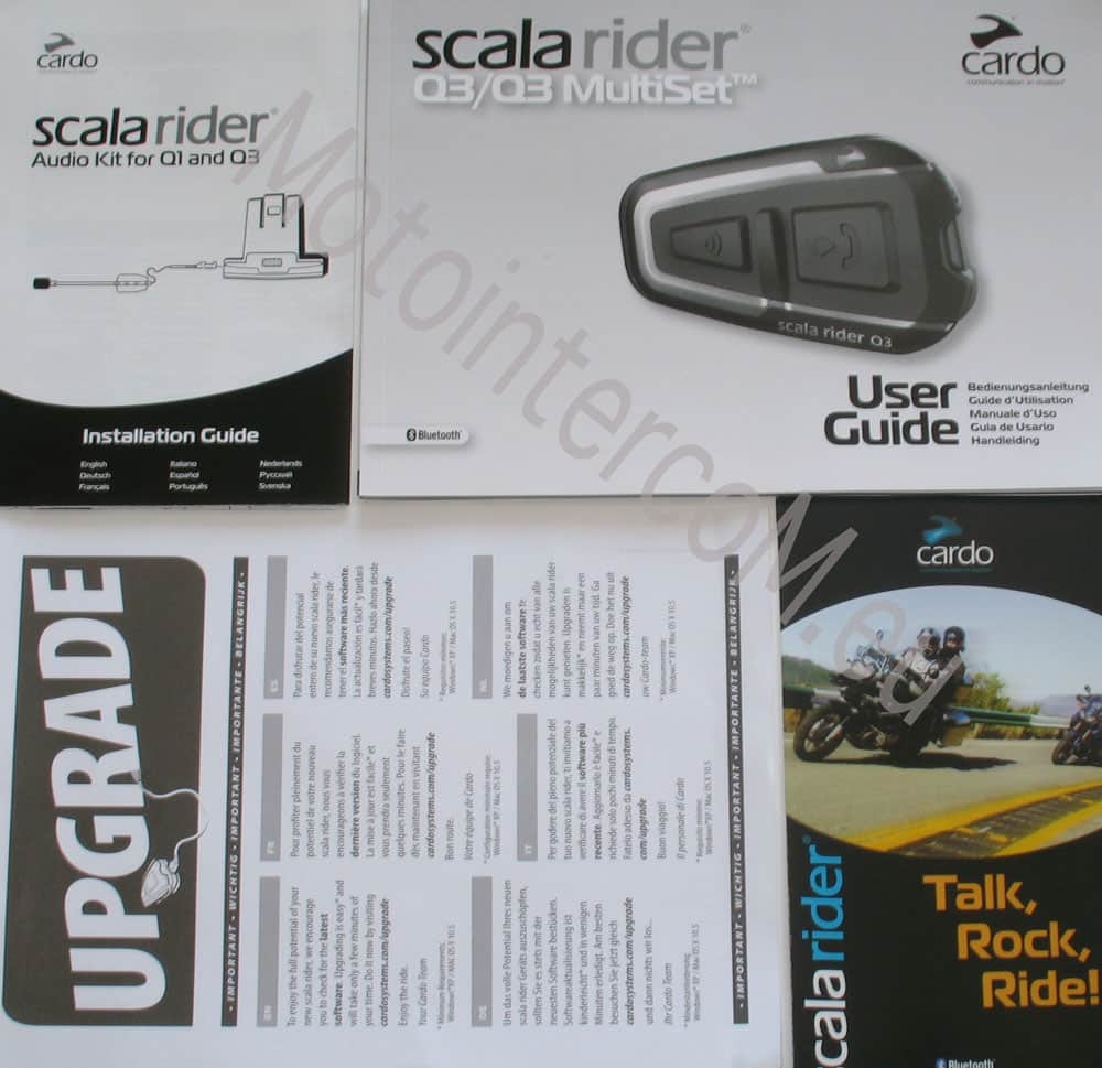 q3 cardo sistems scala rider user guide
